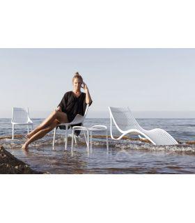 Comprar online Set de 2 Tumbonas de Diseño Vondom Colección IBIZA Blancas