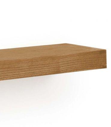 Estante de madera natural de Mindi MADHU