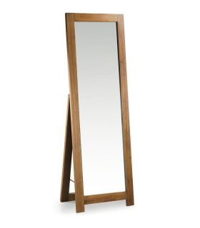 Comprar online Espejo de pie en madera natural de Mindi Colección STAR