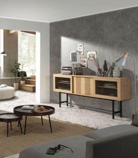 Comprar online Mueble Aparador en chapa de Roble Colección MALENA