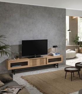Comprar online Mueble de Televisión en chapa de Roble Colección MALENA