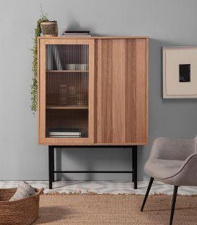 Comprar online Mueble Auxiliar en chapa de madera de roble Colección MALENA