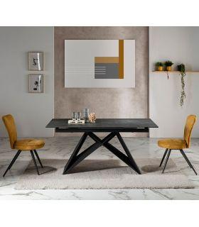 Comprar online Mesa Extensible con tapa de cerámica Modelo HARA