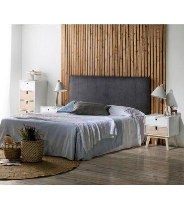 Cabecero Tapizado para cama de matrimonio modelo KORAL