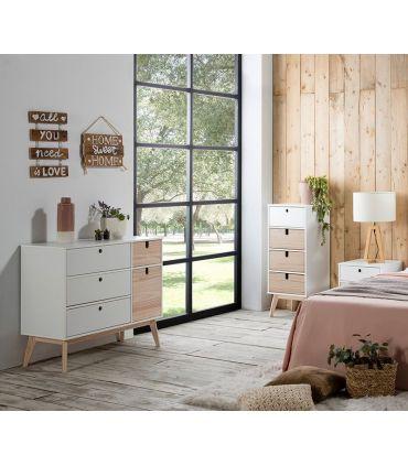 Mueble Cajonera de estilo nórdico colección KIARA