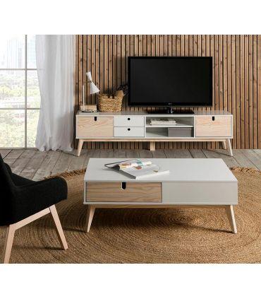 Mesa de centro de estilo Nórdico Colección KIARA