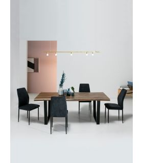 Comprar online Mesa de Comedor de estilo industrial modelo REX