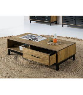 Comprar online Mesa de centro en madera de Pino y DM Colección ALESSIA