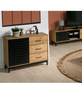 Comprar online Mueble Auxiliar taquillón en madera de pino Colección ALESSIA
