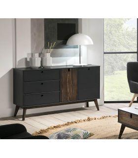 Comprar online Mueble Aparador en madera de Pino Colección KIARA Antracita