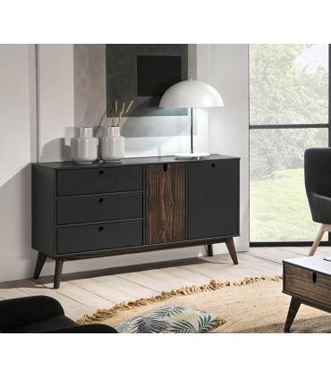 Mueble Aparador en madera de Pino Colección KIARA Antracita