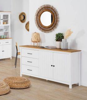 Comprar online Mueble Aparador en madera de pino Colección MIRANDA