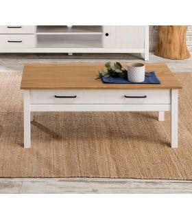Comprar online Mesa de centro en madera de pino Colección MIRANDA