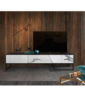 Comprar online Mueble de Televisión con frentes de Porcelánico Modelo KERALA