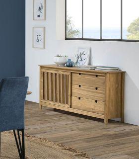 Comprar online Mueble Aparador en madera natural de pino Colección BRUNA