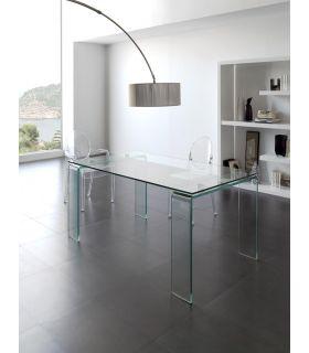 Comprar online Mesas de cristal para Comedor-Salon : Modelo LISITEA