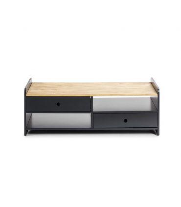 Mesa de centro de madera Colección MONTE Antracita