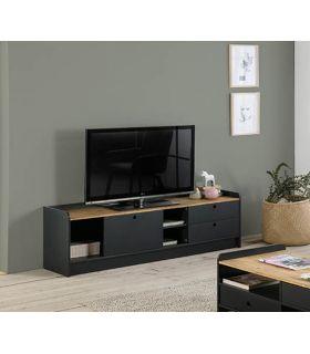 Comprar online Mueble de Televisión en madera Colección MONTE Antracita