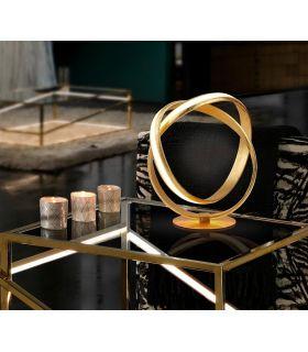 Comprar online Lámpara LED de sobremesa modelo LAZAS Oro