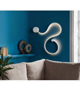 Comprar online Aplique de pared en Acero y Aluminio GRAFOS Blanco PQ