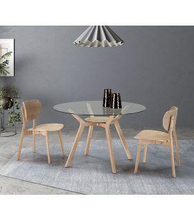 Comprar online Set de 2 sillas de madera de HEVEA modelo AZARA