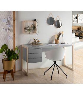 Comprar online Escritorio de madera modelo FRANK Gris
