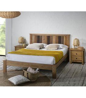 Comprar online Cama en madera de Pino modelo MAUDE Natural