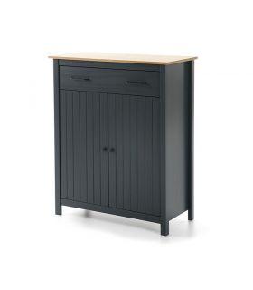 Comprar online Mueble Auxiliar en madera de pino Colección MIRANDA Azul