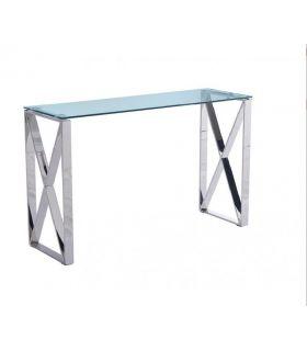 Comprar online Consola de acero y cristal templado colección VALENCIA