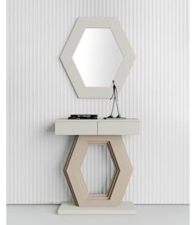 Comprar online Espejo decorativo de pared modelo HEXAGONO PQ