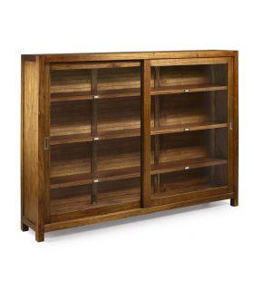 Comprar online Mueble alto de madera con Vitrina : Coleccion STAR
