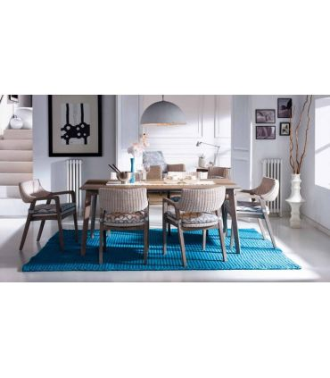 Mesas de Comedor de Madera Rustica : Modelo ELITA