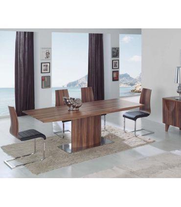 Mesas de Comedor-Salon Extensible en Madera : Modelo AMALTEA