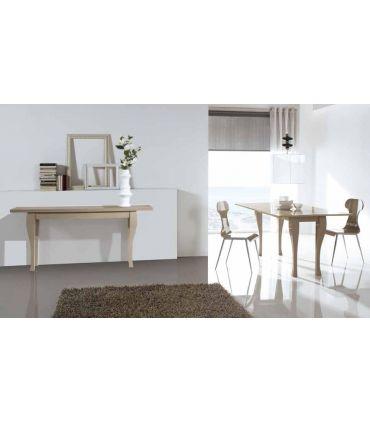 Mesa de madera plegable tipo Libro Modelo COLOMA