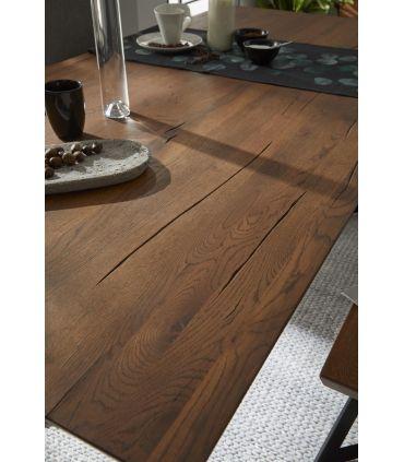 Mesa de Comedor en madera de Roble : Modelo OREGON