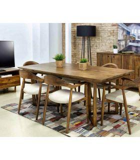 Comprar online Mesas para Salón : Colección CALVIN rectangular