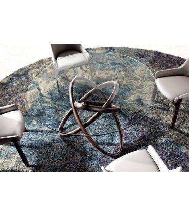 Mesa de Comedor en Madera y Cristal : Modelo MISIA