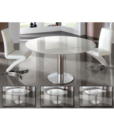 Mesas Extensibles con base de acero : Modelo ALBA