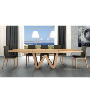 Mesas de comedor de diseño : Modelo WENDA Madera