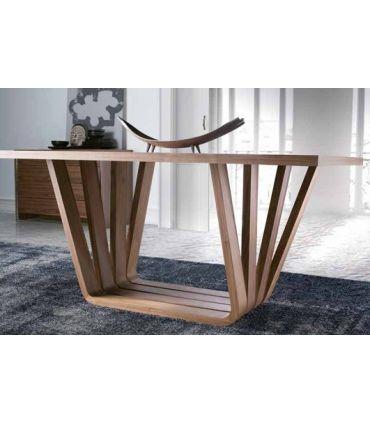 Mesa de Comedor de Diseño Moderno : Modelo LEVIATAN Madera