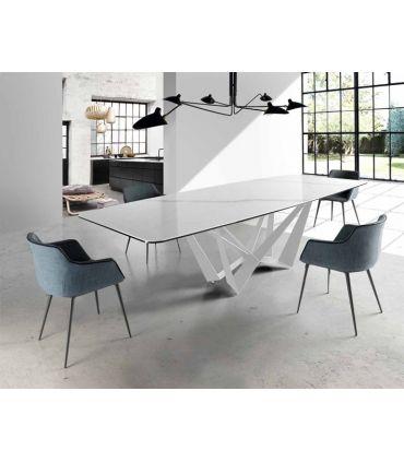 Mesa de Comedor en Marmol : Modelo TRITÓN Rectangular