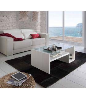 Mesa de Centro con Cristal para Salón : Modelo NAVARRA VMS