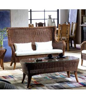 Comprar online Mesas de Cafe de Rattan : Coleccion HAITI II