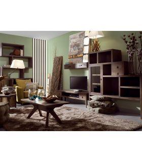 Comprar online Mesa de centro estilo Colonial de Madera : Colección SPARTAN