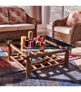 Comprar online Mesas de Centro de Bambu : Modelo AKSARA