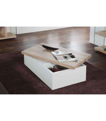 Mesa de centro con tablero Giratorio : Modelo HELEN