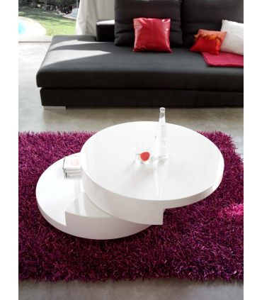 Mesas para Centro Giratoria : Modelo PEGASUS blanco