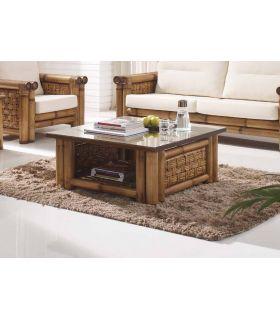 Comprar online Mesa de centro de Rattan : Modelo SAMAYA