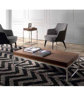 Comprar online Mesa de Centro en madera y metal Modelo MELISA