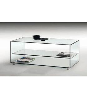 Comprar online Mesa de Centro de Cristal Transparente : Modelo KATY
